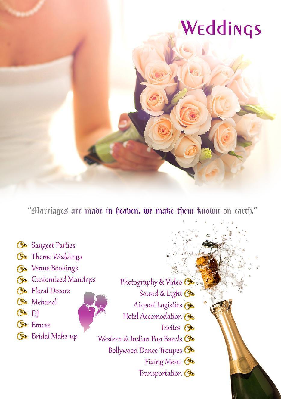 Wedding Planners in Bangalore: Creative Wedding planning, Venue ...